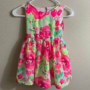 The children's place floral dress size 4T A101
